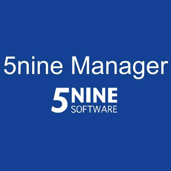 برنامه ۵NINE Manager برای مدیریت Hyper-V سرور