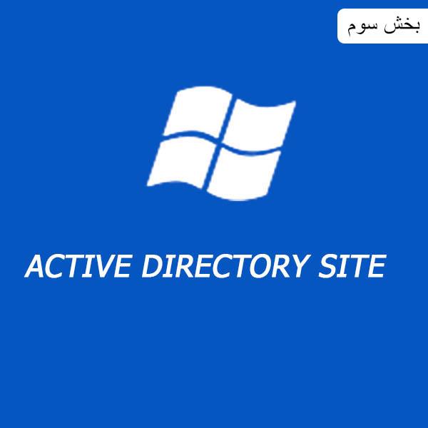 مدیریت سایت ها در اکتیو دایرکتوری (ACTIVE DIRECTORY SITE AND SERVICE)بخش سوم